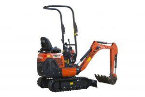 1 ton excavator