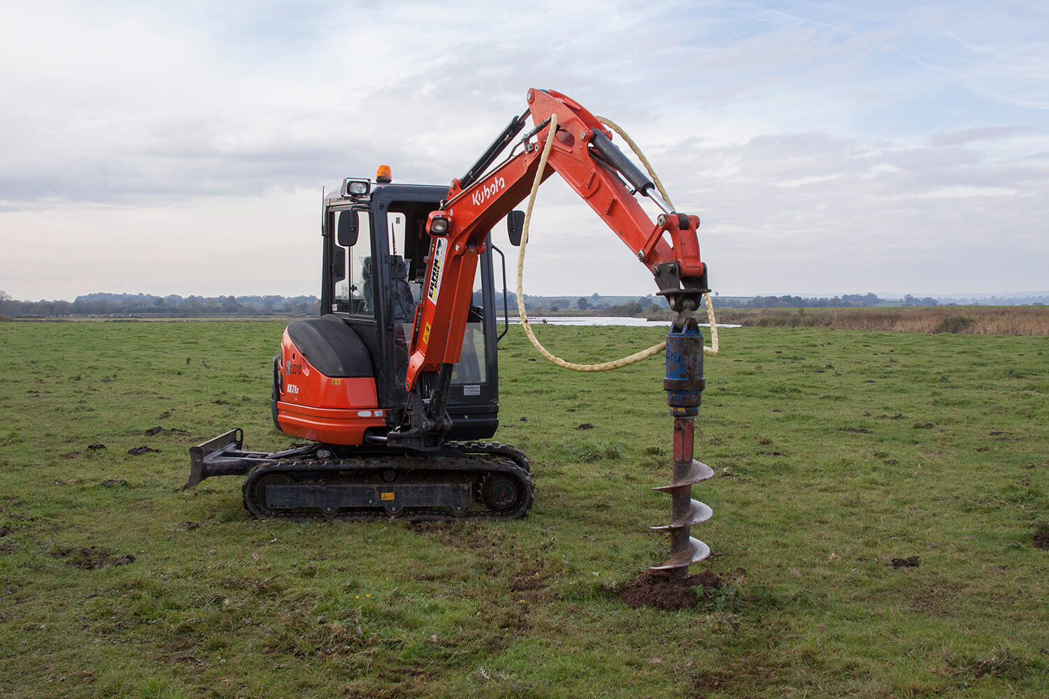 Digger with Auger Attach