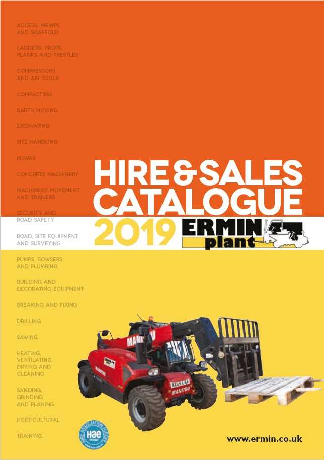 2019 Catalogue cover