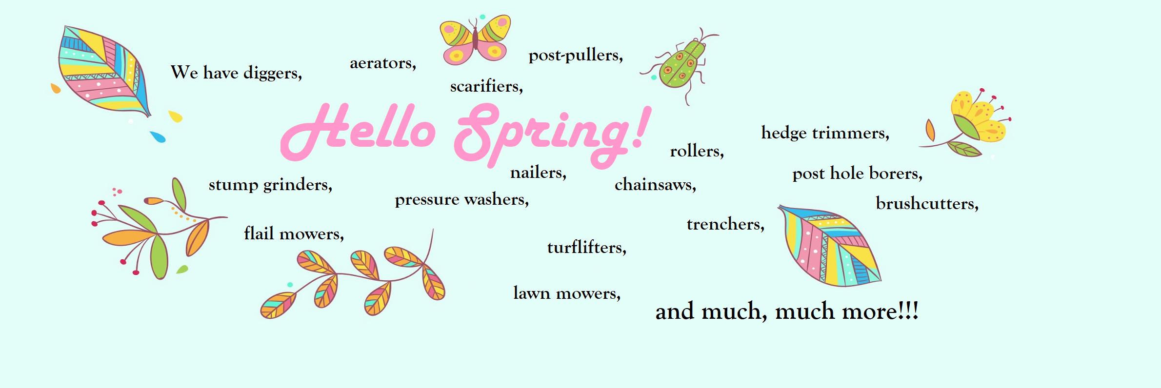 Spring Ermin website banner